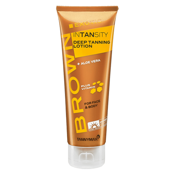 Tannymax Brown Exotic Intansity Deep Tanning Lotion 125 ml