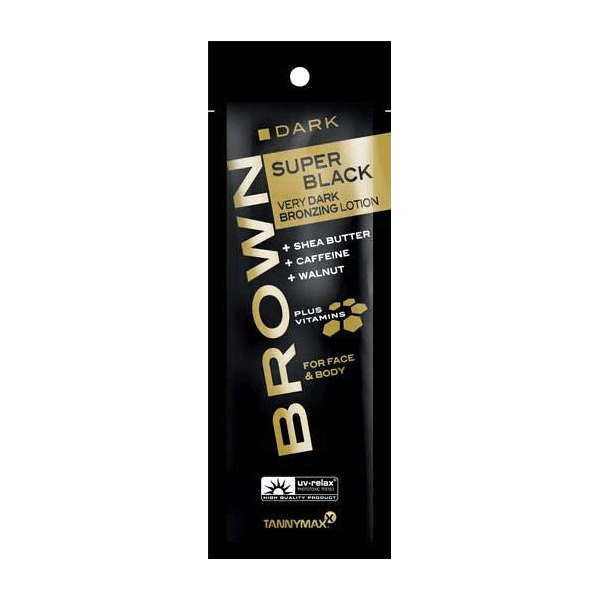Tannymaxx Brown Super Black Very Dark Bronzing Lotion 15 ml