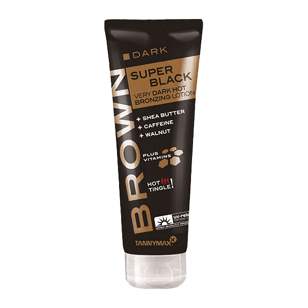 Tannymaxx Brown Super Black Bronzing HOT 125 ml