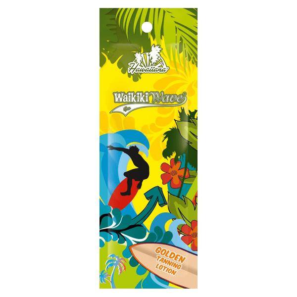 Hawaiiana Waikiki Wave Golden Tanning Lotion 15 ml