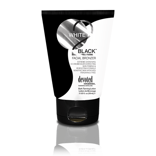 Devoted Creations, White 2 Black Facial Bronzer 90 ml - solární kosmetika