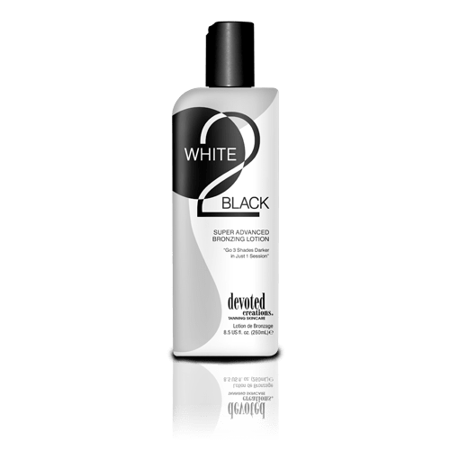 Devoted Creations, White 2 Black 260 ml - solární kosmetika