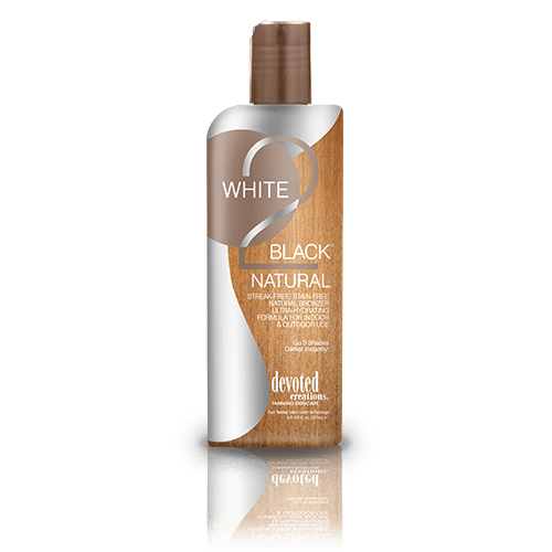 Devoted Creations, White 2 Black Natural 260 ml - solární kosmetika