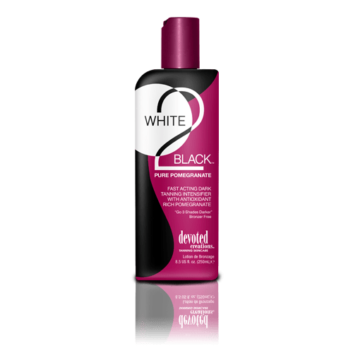 Devoted Creations, White 2 Black Pure Pomegranate 260 ml - solární kosmetika