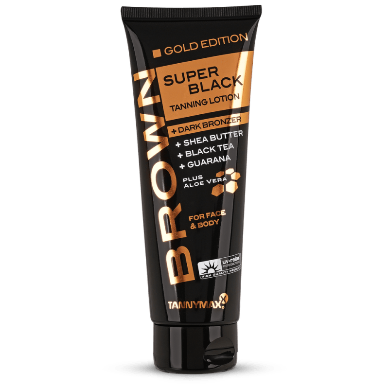 Tannymaxx Brown Super Black Dark Bronzer Gold Edition 125 ml
