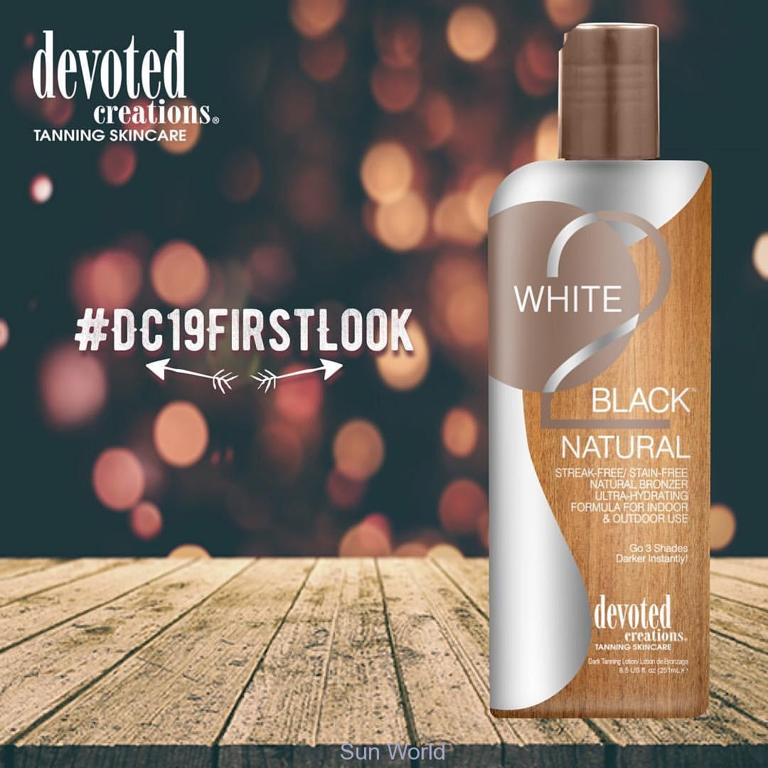 Devoted Creations, White 2 Black Natural 15 ml - solární kosmetika
