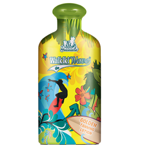 Hawaiiana Waikiki Wave Golden Tanning Lotion 200 ml