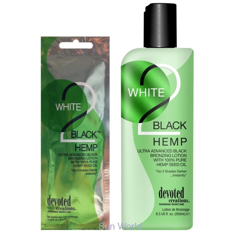Devoted Creations White 2 Black Hemp 260 ml