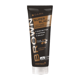 Tannymaxx Brown Super Black Very Dark Bronzing Lotion 125 ml