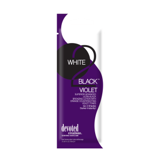 Devoted Creations, White 2 Black Violet 15 ml - solární kosmetika